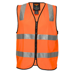 Orange | Security Zip Vest  D&N | The Safety Warehouse - Online Mega Store.