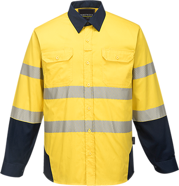 PW3 Hi-Vis Work Shirt -  PW372