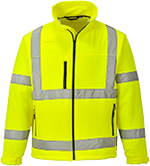 Yellow | Hi-Vis Softshell Jacket | The Safety Warehouse - Online Mega Store.