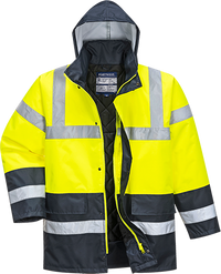 Yellow | Hi-Vis 2-Tone Jacket | The Safety Warehouse - Online Mega Store.