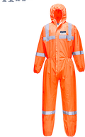 Hi-Vis SMS Coverall  (50pc) -  ST36