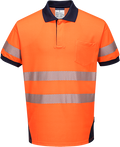 PW3 Hi-Vis Polo Shirt S/S -  T182