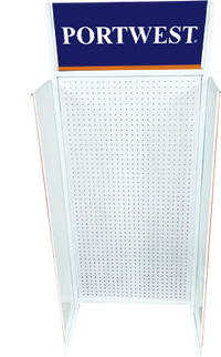 Orange/Navy | Pull-Up Banner KX3 | The Safety Warehouse - Online Mega Store.