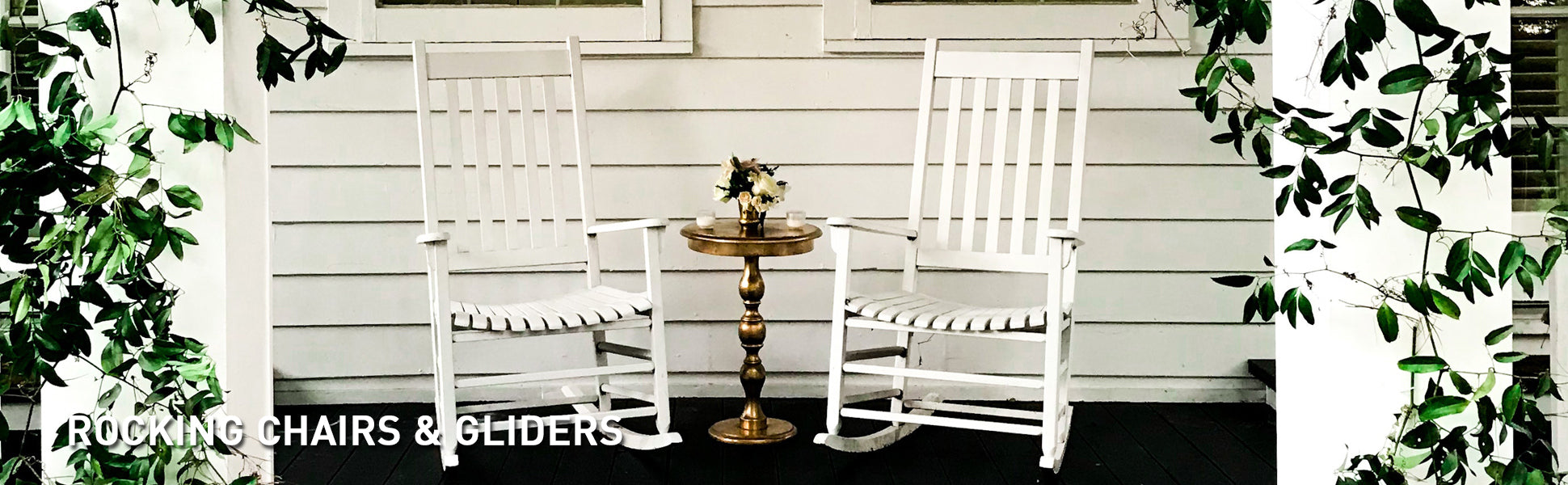 Rocking Chairs & Gliders