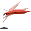 10ft Offset Rectangular Cantilever Patio Umbrellab