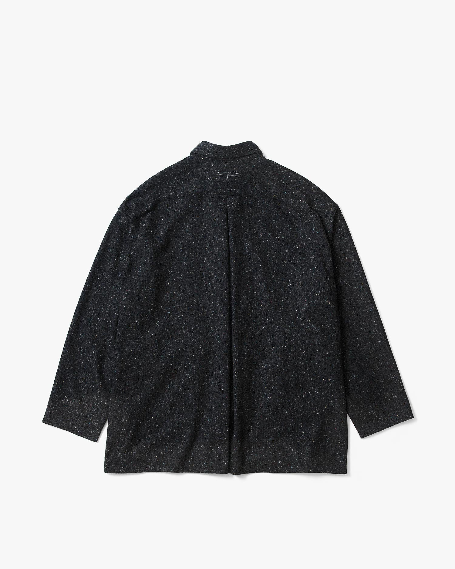 Homeless Over Shirt - Silk×Wool
