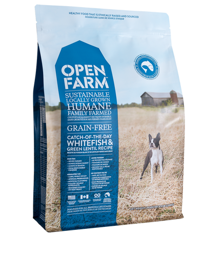 Open Farm Dog Catch of the Season Whfish&GrnLentil