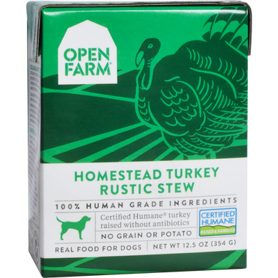 Open Farm Dog Turkey Rustic Stew 12.5oz