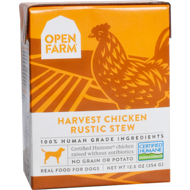 Open Farm Dog Chicken Rustic Stew 12.5oz