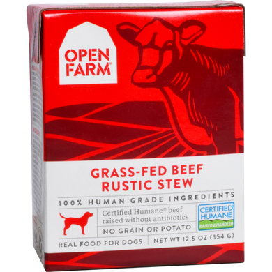 Open Farm Dog Beef Rustic Stew 12.5oz