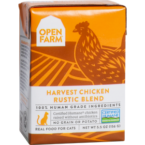 Open Farm Cat Chicken Rustic Blend 5.5oz