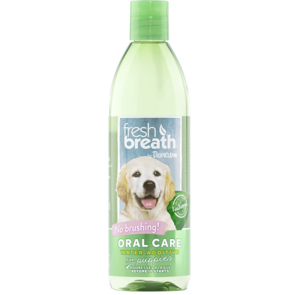 TropiClean Fresh Breath Water Addtive+ for Puppies 473 ml