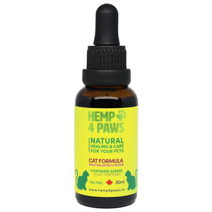 Hemp 4 Paws Hemp Seed Oil Wild Salmon Flavour 225MG/30ML | Cat