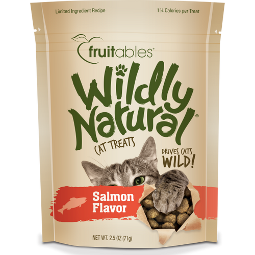 Fruitables Cat Wildly Natural Treats Salmon 71g