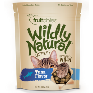 Fruitables Cat Wildly Natural Treats Tuna 71g