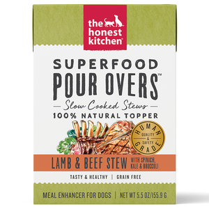 HK Dog GF Pour Overs Superfood Lamb & Beef Stew 5.5 oz