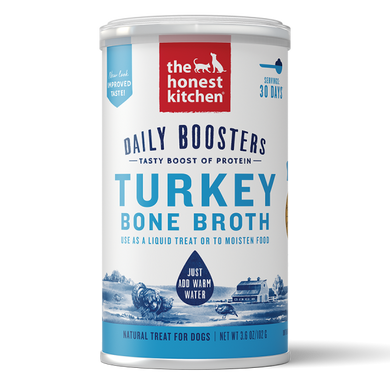 HK Daily Boosters Instant Turky Bone Broth Turmeric 3.6 oz