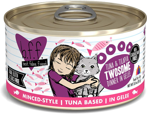 BFF Tuna & Tilapia Twosome 3oz