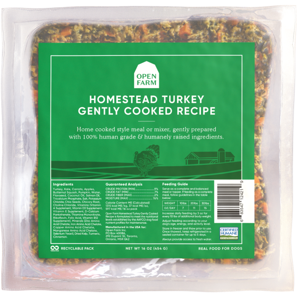Open Farm Dog Gently Cooked Turkey 16oz