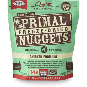 Primal Dog Freeze Dried Chicken 14oz