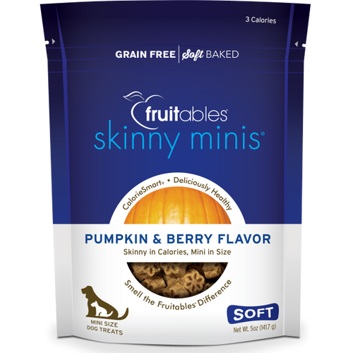 Fruitables Dog Skinny Minis Pumpkin/Berry Chewy Treats 141g