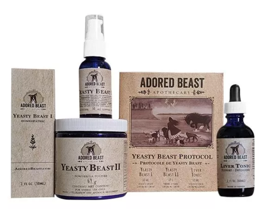 YEASTY BEAST PROTOCOL (3 PRODUCT KIT)