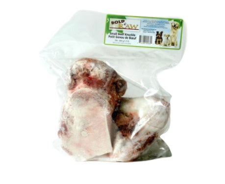 Bold Raw Dog Frozen Small Beef Knuckles 2/bag