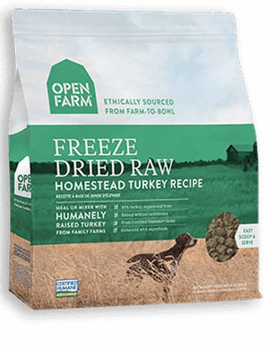 Open Farm Dog Freeze Dried Raw Homestead Turkey 13.5oz