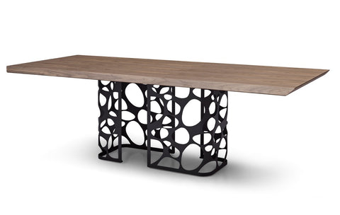 MESA DE COMEDOR LONDON - Oak y Negro