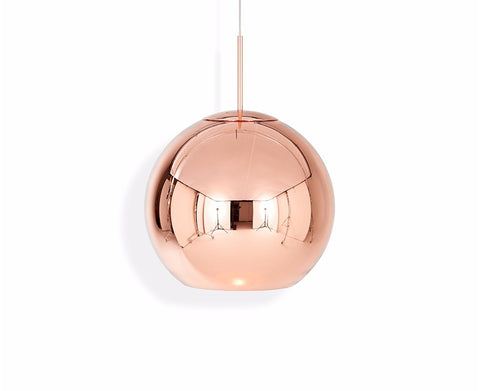 LAMPARA COLGANTE COPPER ROUND