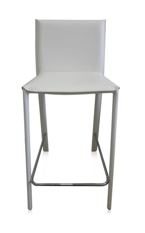 SILLA DE BAR MANHATTAN - Blanco
