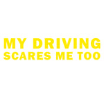 My Driving Scares Mee Too - Pryl Pressen