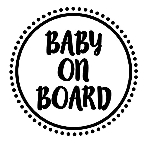 Baby on Board - Pryl Pressen