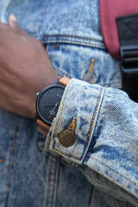Affordable casual leather watches for men