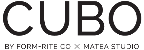 CUBO by Form-Rite Co x Matea Studio Logo