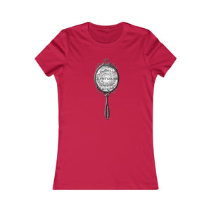 "Beautiful ""hand mirror"" image-positive affirmation-Self love t-shirt"