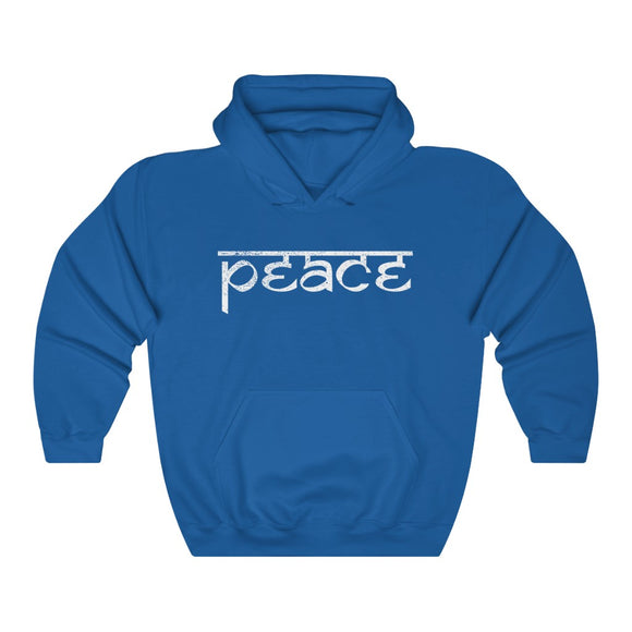 Vintage peace hoodie-encouraging words-positive affirmation sweatshirt
