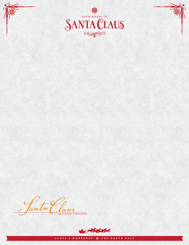Santa letterhead template word geccetackletarts santa letterhead template word spiritdancerdesigns Image collections