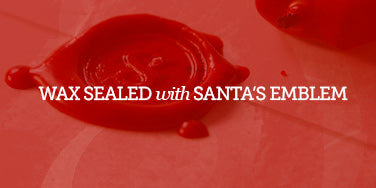 Authentic Wax Seal on santa letter 2013