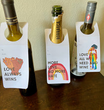 Load image into Gallery viewer, Wine Gift Tags set of 3