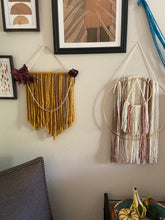 Load image into Gallery viewer, Mustard Macrame Wall Hanging