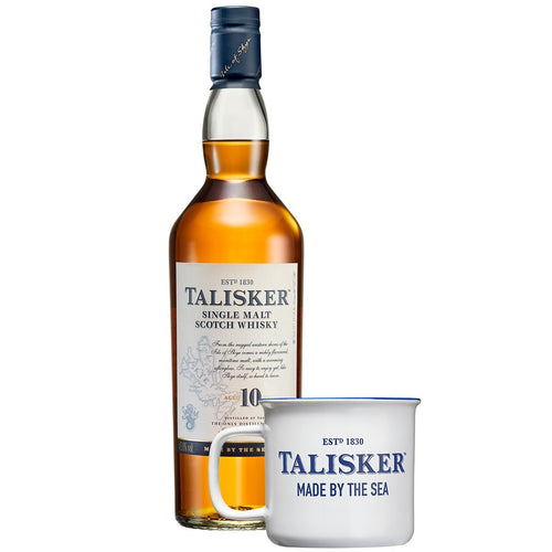 Talisker 10 Year Old (Gift Mug Included)