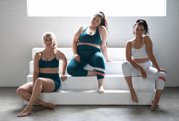 elle evans ethically made activewear made from recycled Econyl fabric in Australia