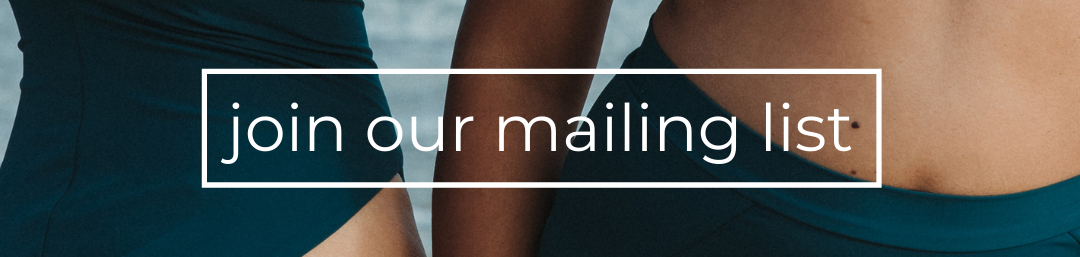 subscribe for ethical eco swimwear and activewear in your inbox