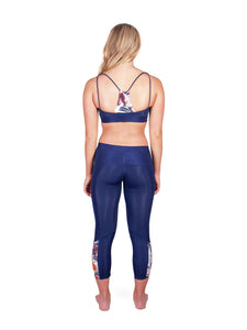 Fraser Sport Bra - Midnight