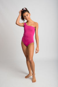 Frond Onepiece -Never Never Print/Hot Pink