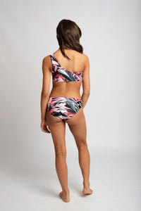 Never Never Bikini Bottoms - Never Never Print/Hot Pink