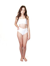 Load image into Gallery viewer, Byron Bikini Bottom - White