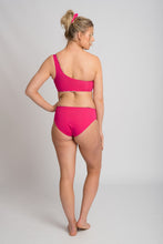 Load image into Gallery viewer, Tyra Bikini Bottom Full Cut -Never Never/Hot Pink