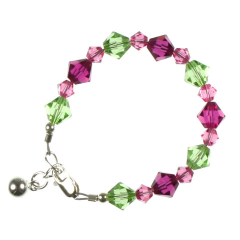 Fuchsia & Green Crystals, Infant